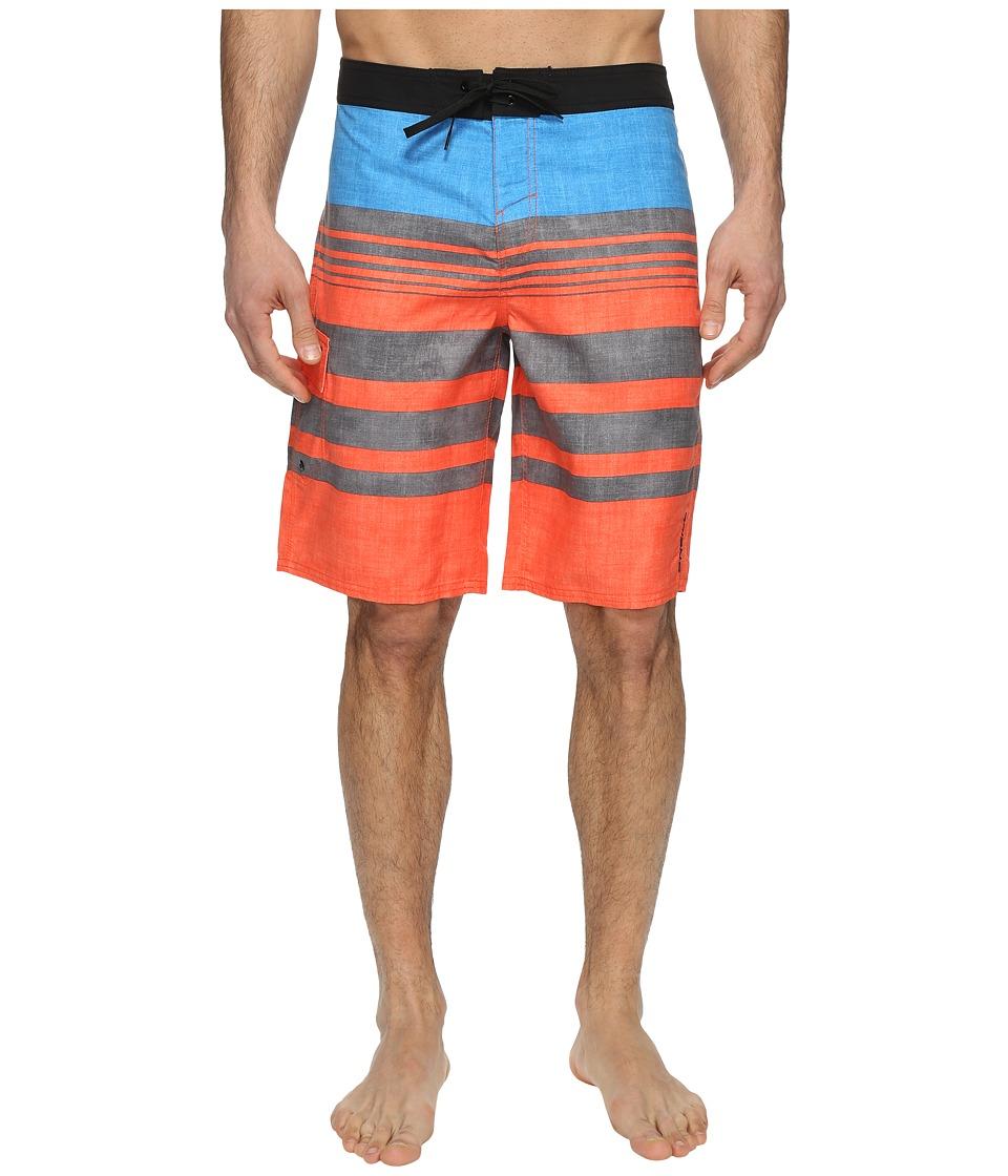 O'Neill - Bocas Del Toro Boardshorts (Orange) Men's Swimwear