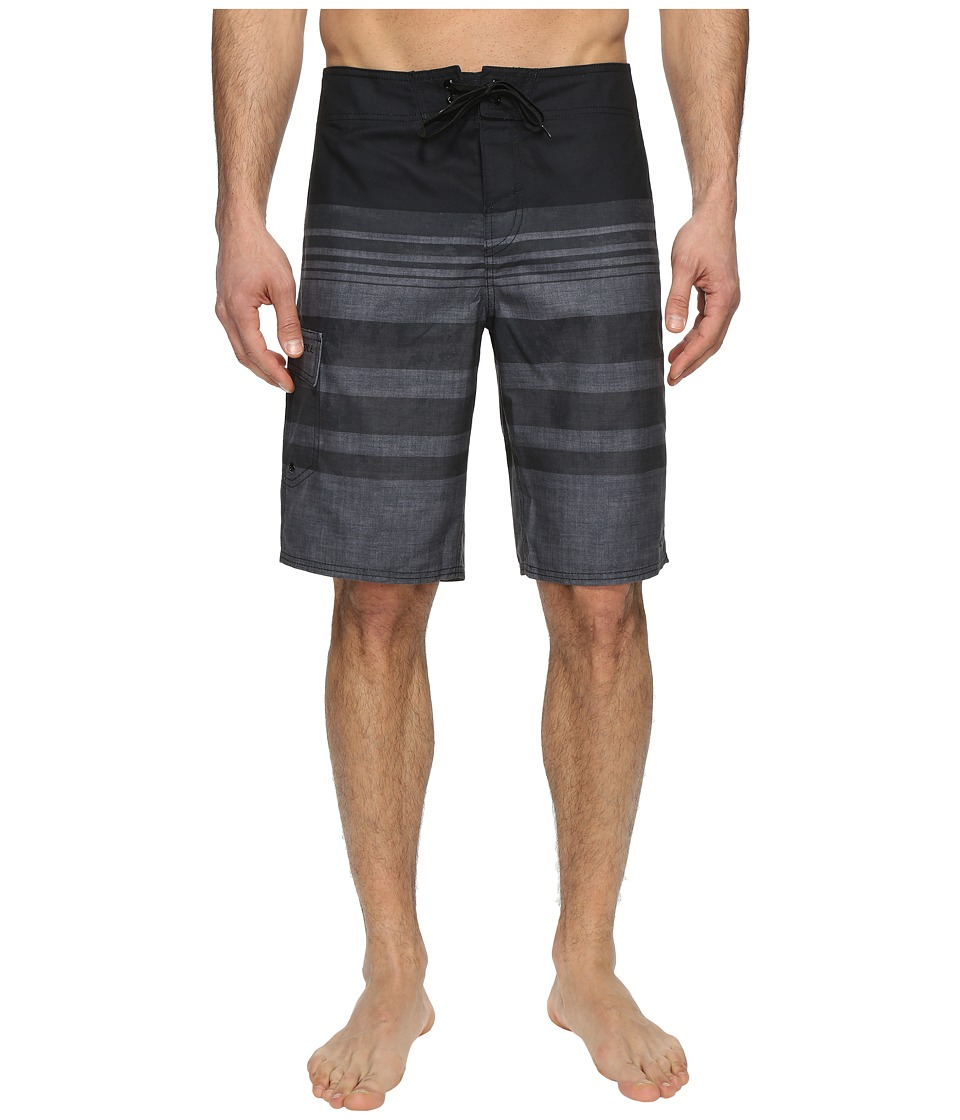 O'Neill - Calypso Boardshorts (Black/Grey) Men's Swimwear