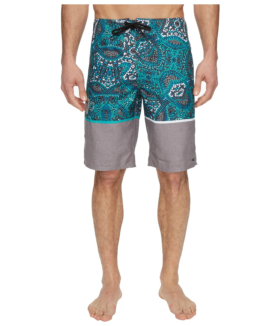 O'Neill - Calypso Boardshorts (Grey) Men's Swimwear