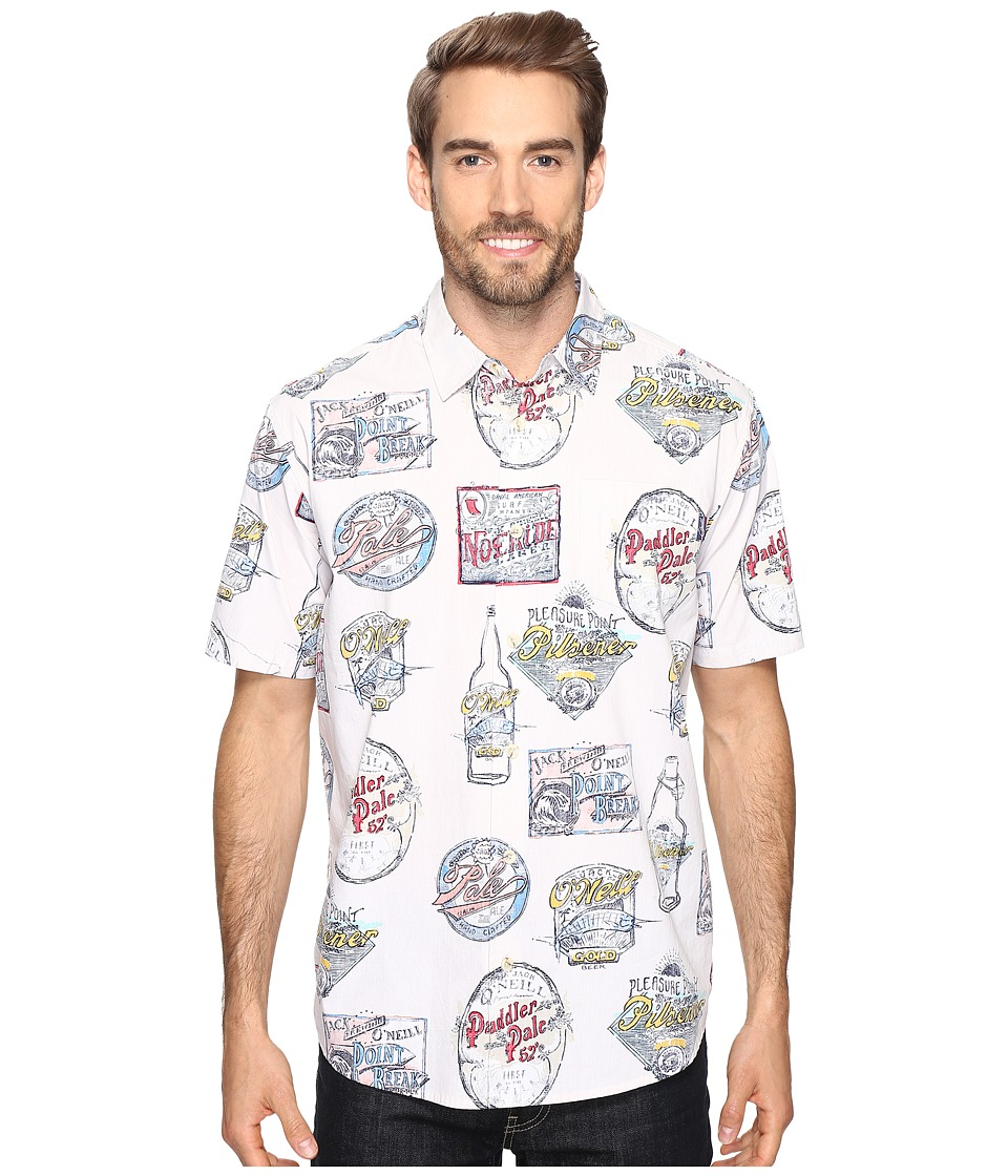 Jack O'Neill - Crafted Wovens (Eggshell) Men's Clothing