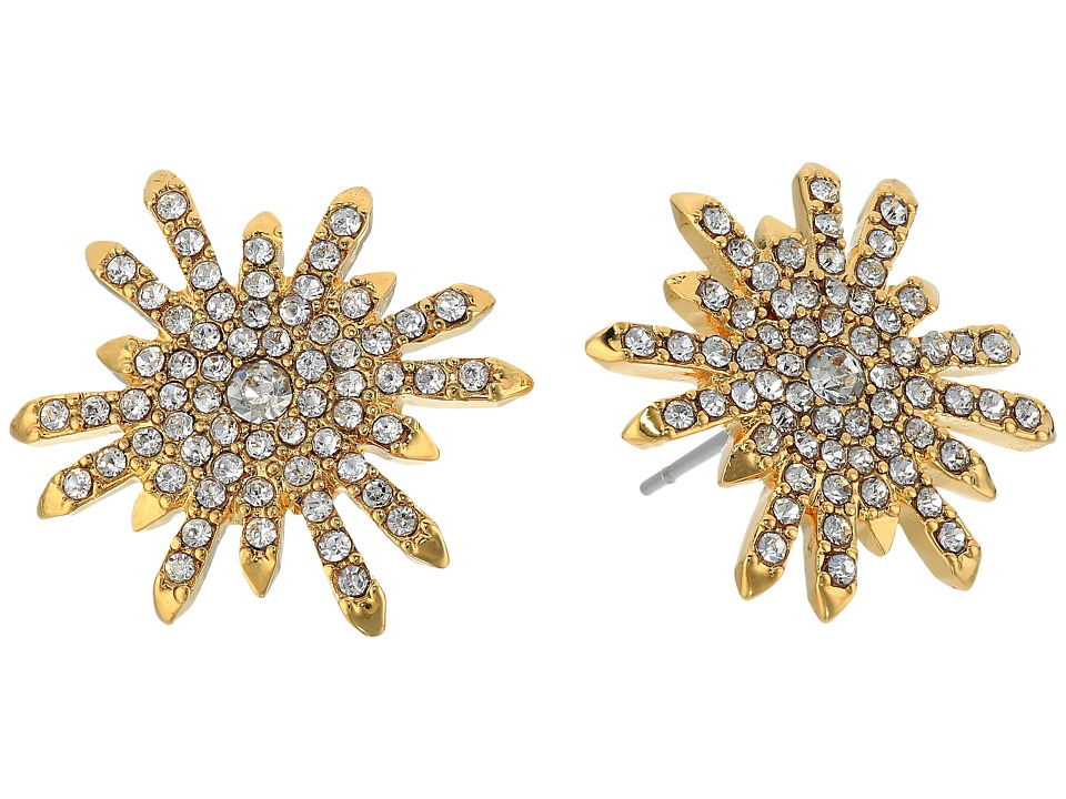 Vince Camuto - Stud Earrings (Gold/Crystal) Earring