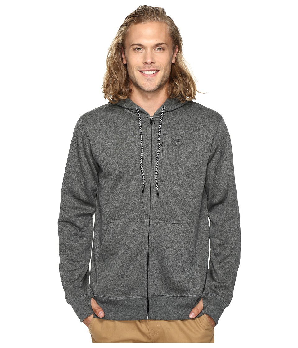 O'Neill - October Hydro Hoodie (Heather Black) Men's Sweatshirt