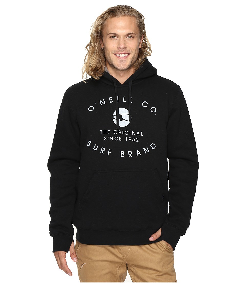O'Neill - The Sherps Pullover Fashion Fleece (Black Print) Men's Fleece