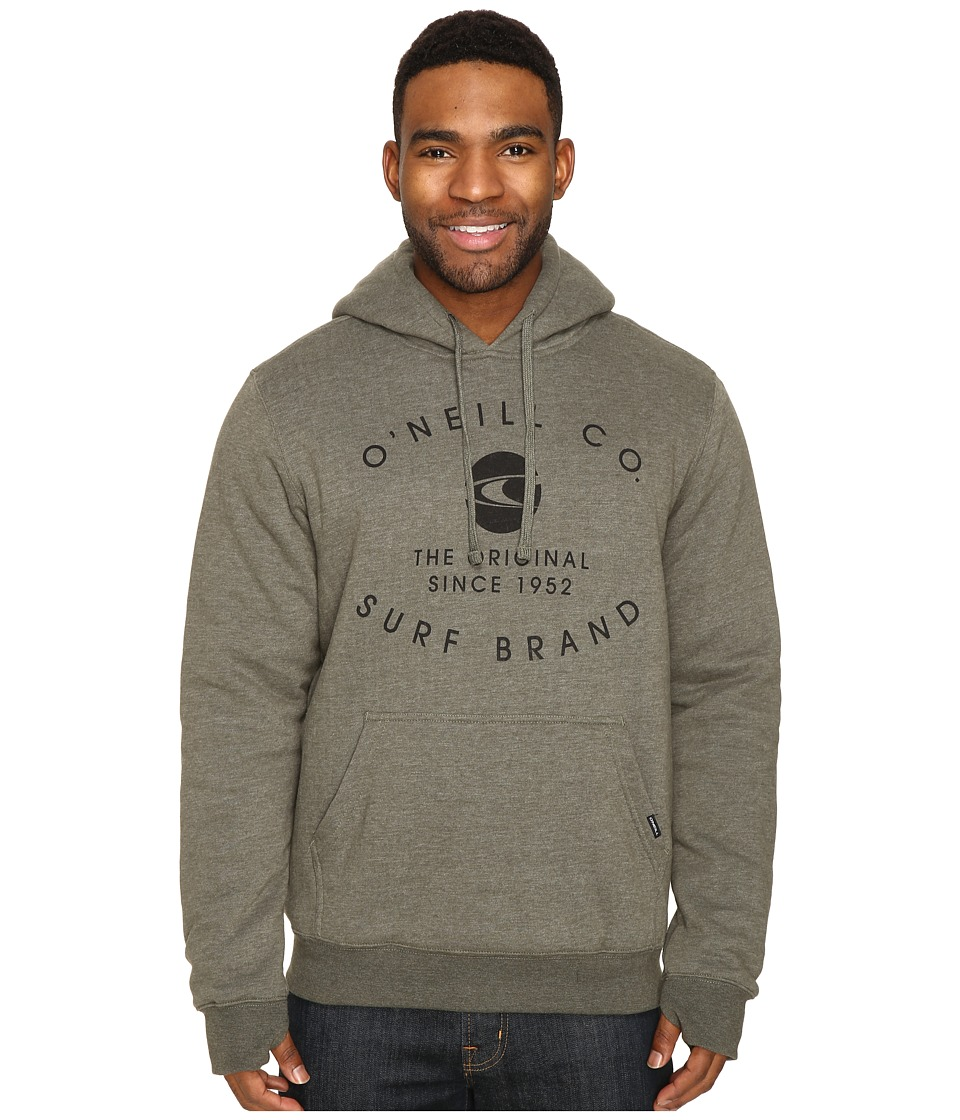 O'Neill - The Sherps Pullover Fashion Fleece (Olive) Men's Fleece