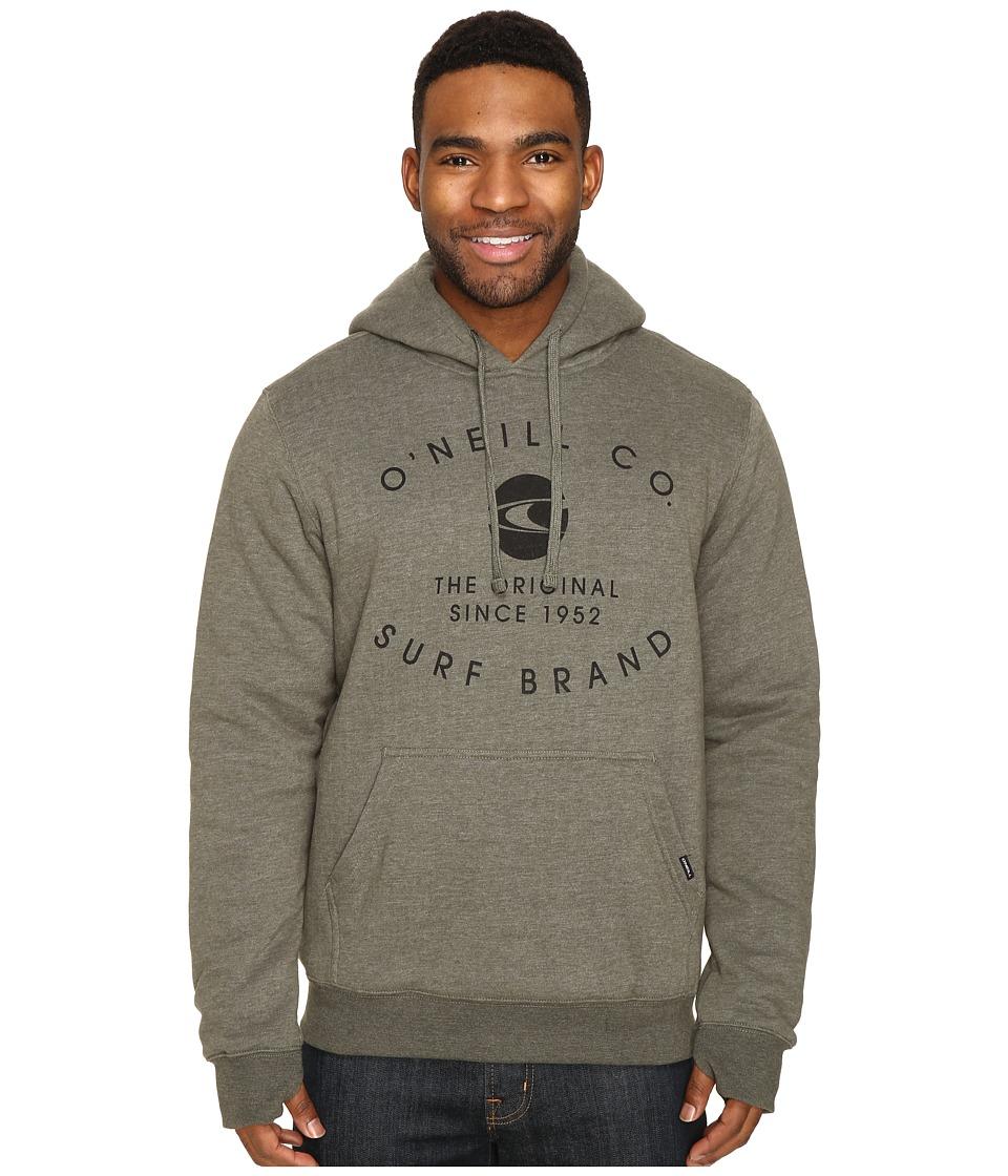 O'Neill - The Sherps Pullover Fashion Fleece (Olive) Men's Fleece
