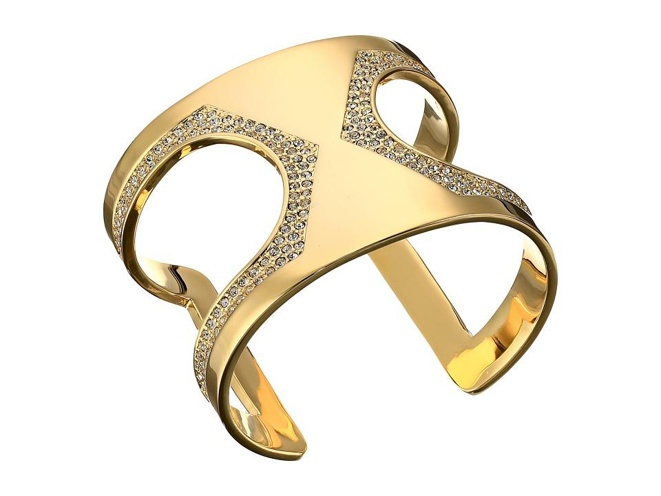 Vince Camuto - Cut Out Pave Cuff Bracelet (Gold/Crystal) Bracelet