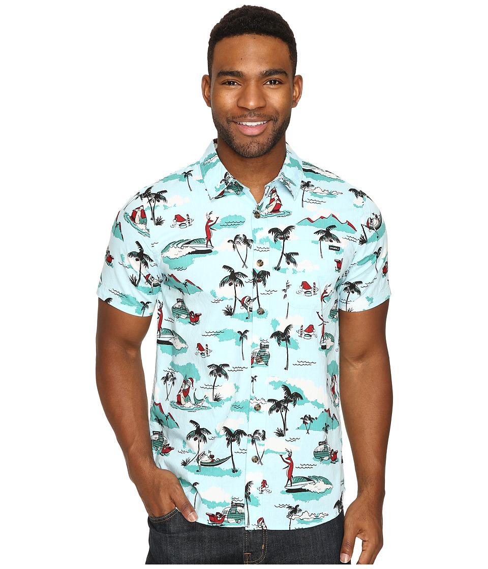 O'Neill - Haole Days Short Sleeve Woven (Light Blue) Men's Clothing