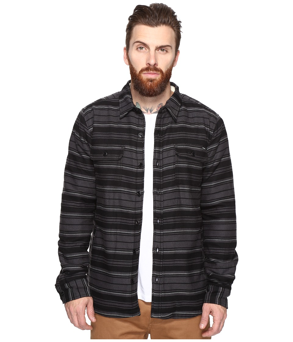 O'Neill - Withers Sherpa Woven (Asphalt) Men's Clothing
