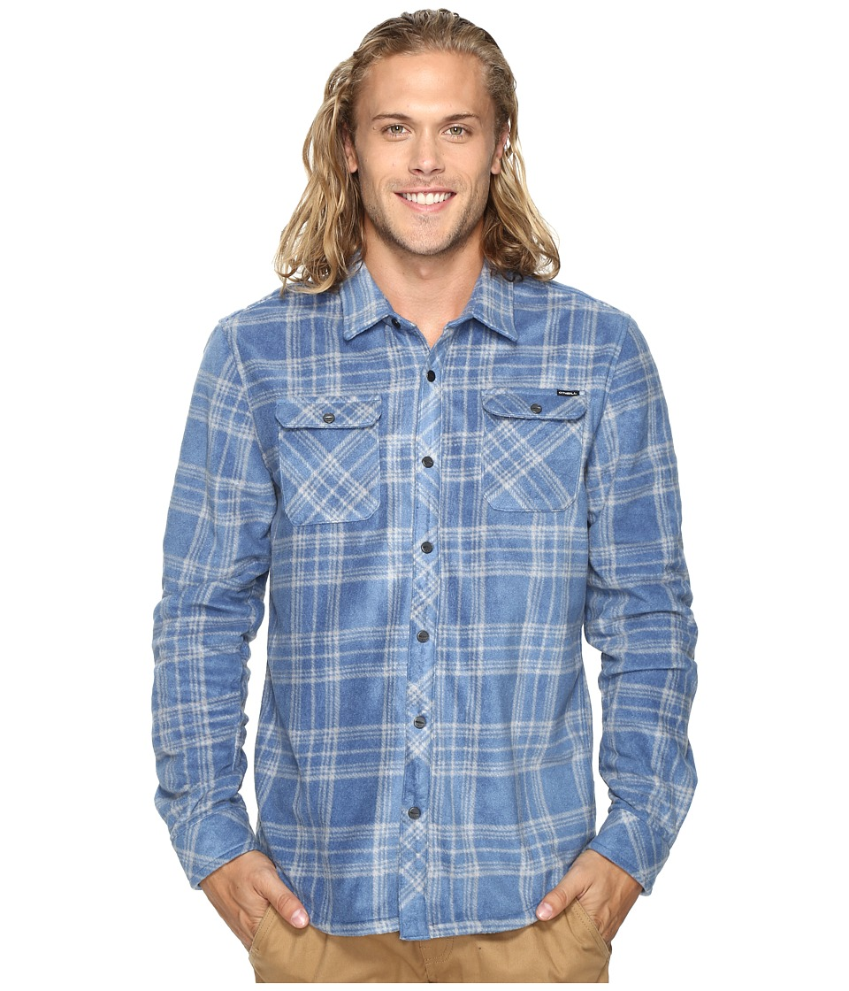 O'Neill - Glacier Plaid (Dusty Blue) Men's Clothing