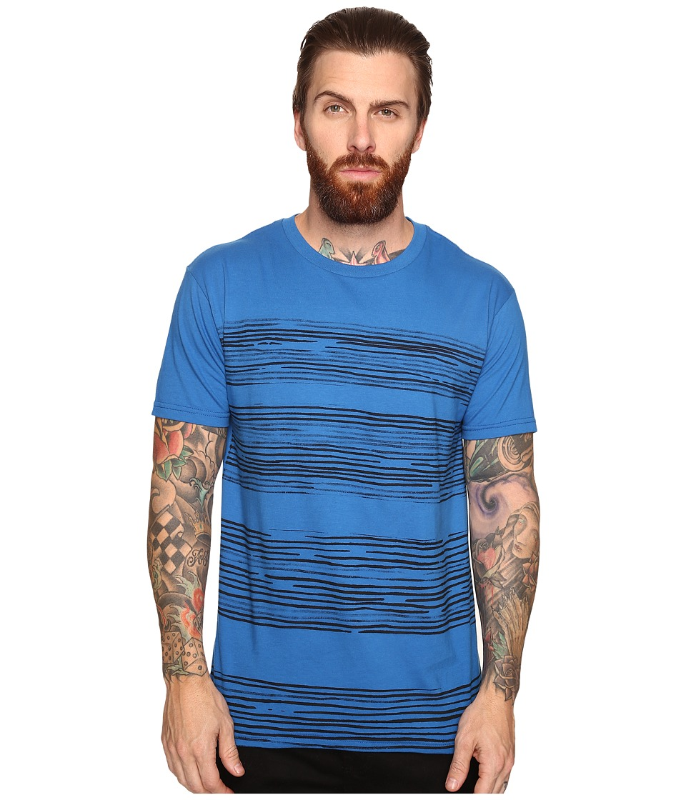 O'Neill - Forecast Short Sleeve Screens Impression T-Shirt (Royal Blue) Men's T Shirt