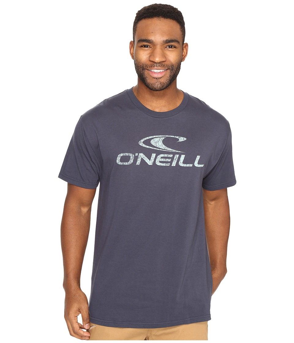 O'Neill - Supreme Short Sleeve Screen Tee (Dark Navy) Men's Short Sleeve Pullover