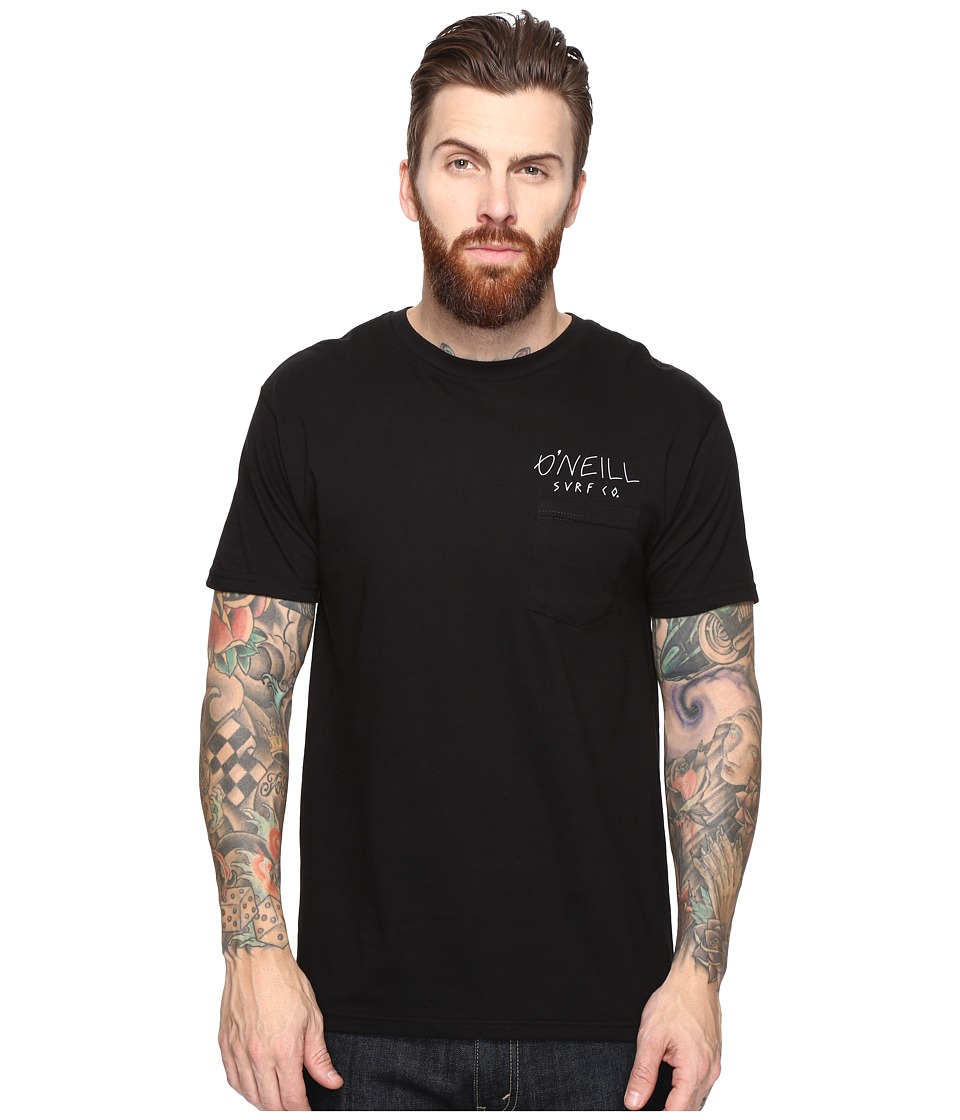 O'Neill - Killers Short Sleeve Screens Impression T-Shirt (Black) Men's T Shirt