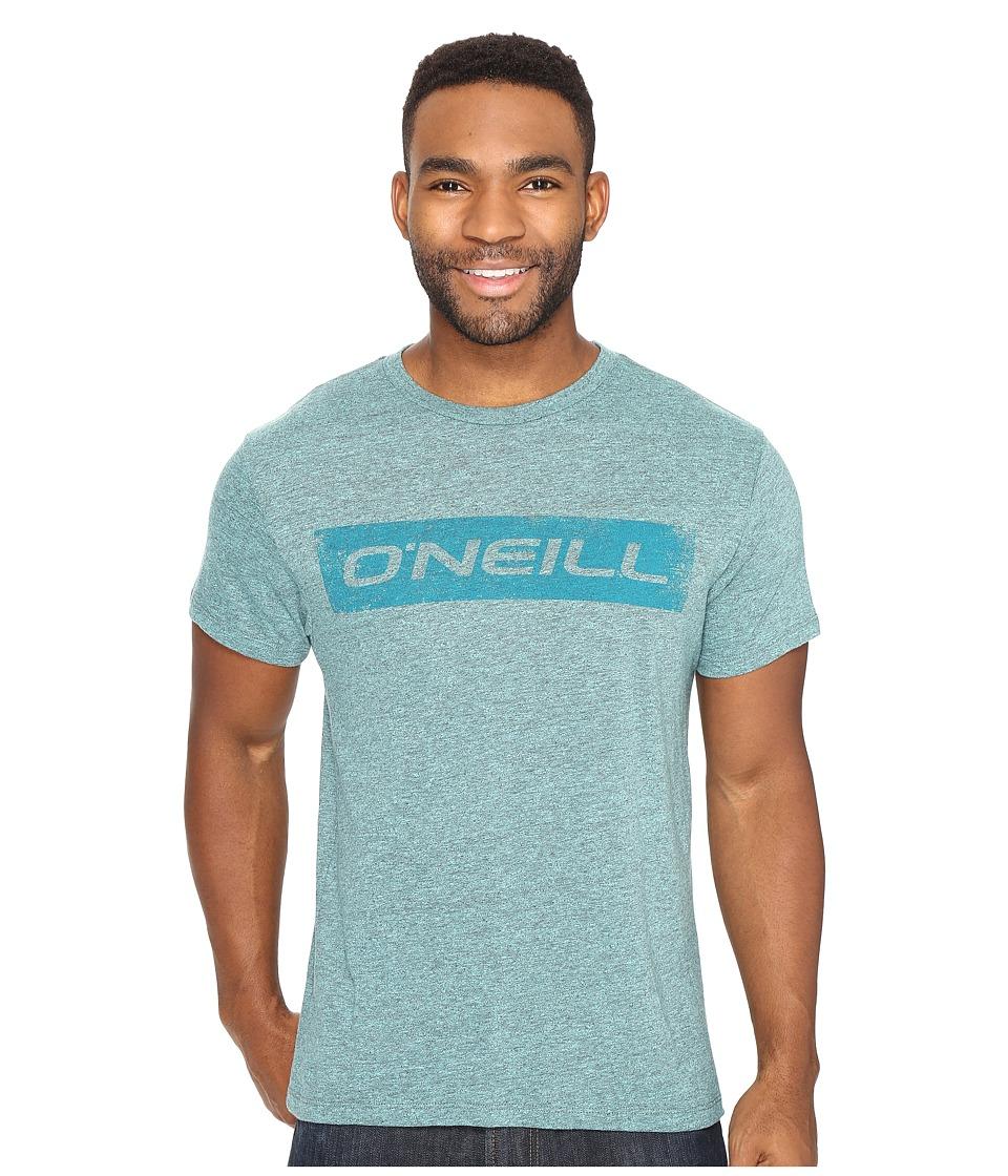O'Neill - Transfer Short Sleeve Screens Impression T-Shirt (Aquarius) Men's T Shirt