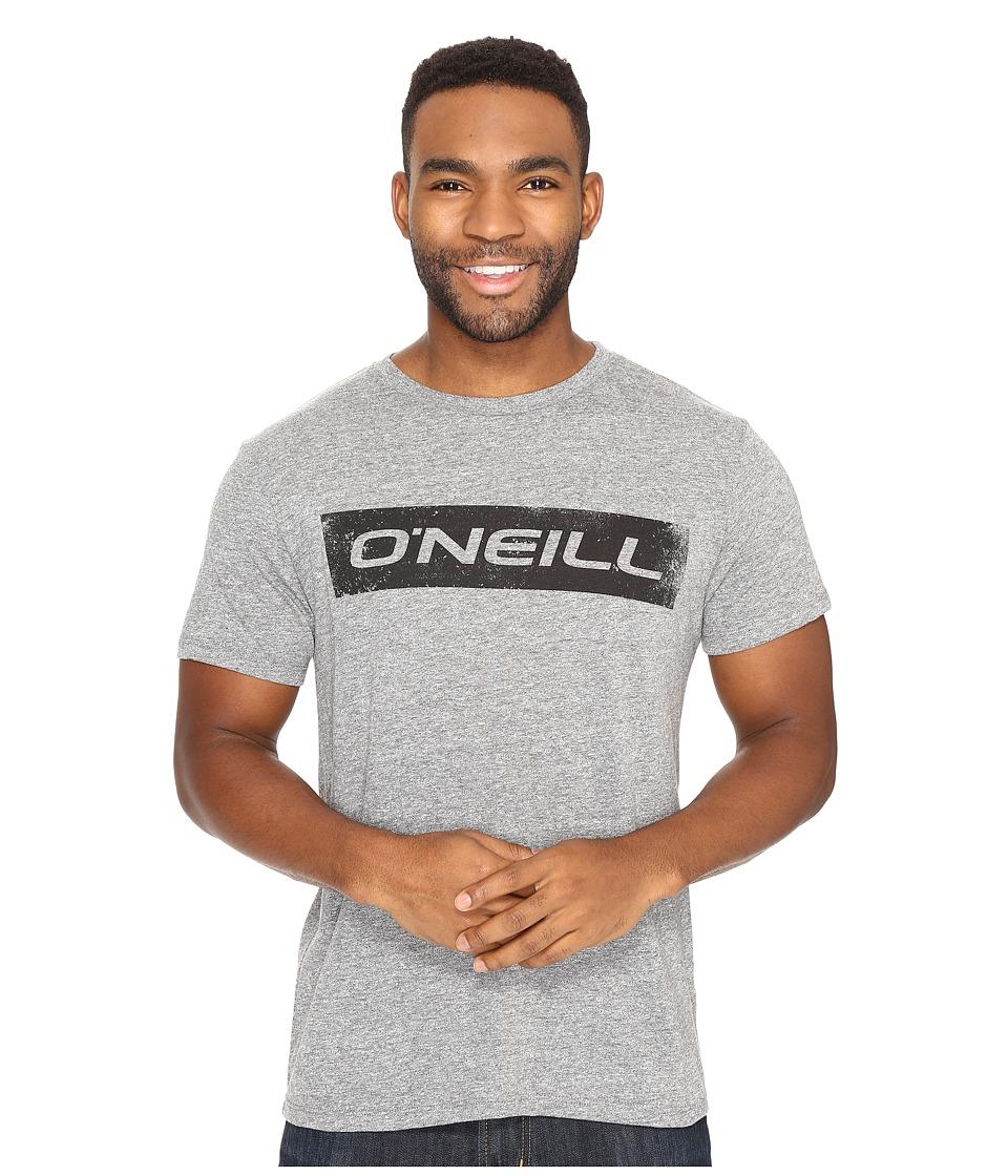 O'Neill - Transfer Short Sleeve Screens Impression T-Shirt (Black) Men's T Shirt