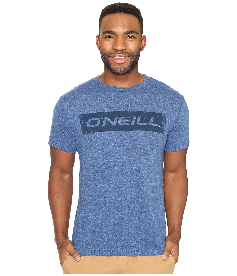 O'Neill - Transfer Short Sleeve Screens Impression T-Shirt (Brilliant Blue) Men's T Shirt