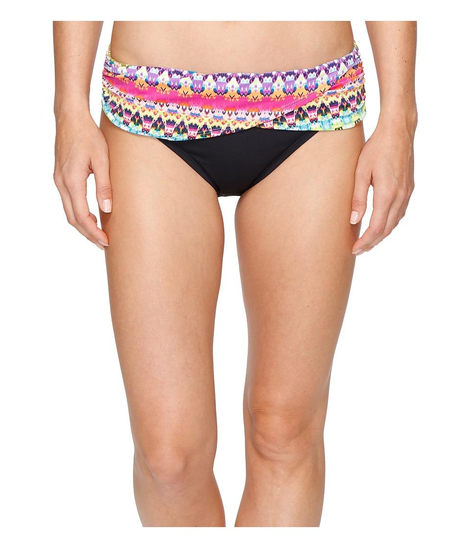 Bleu Rod Beattie - In Living Color Sarong Hipster Bottom (Multi) Women's Swimwear