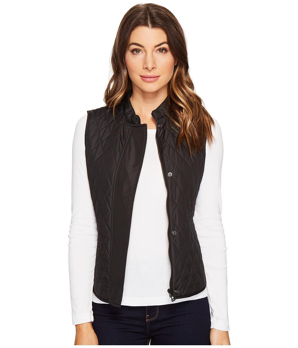 BELSTAFF - Westwell Lightweight Technical Quilt Vest (Black) Women's Vest