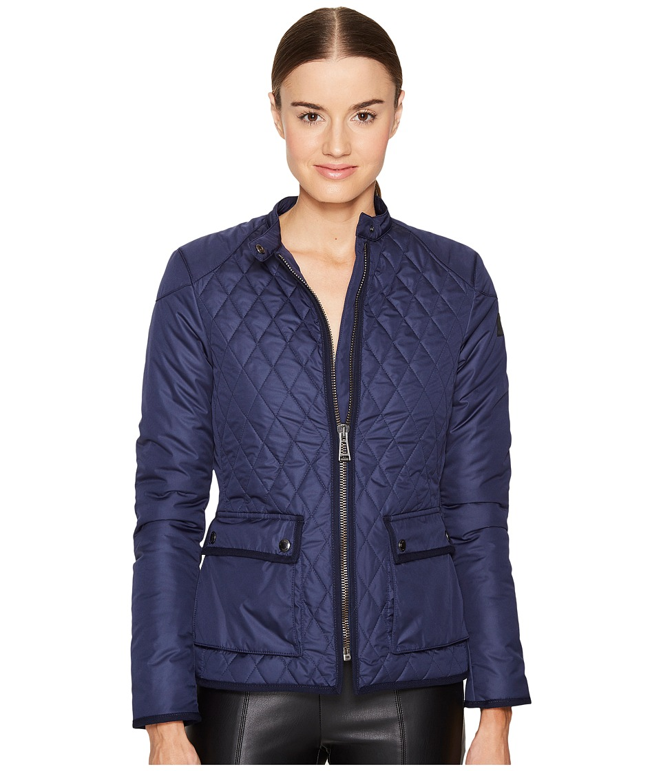 BELSTAFF - Randall 2.0 Lightweight Technical Quilt Jacket (Bright Indigo) Women's Coat