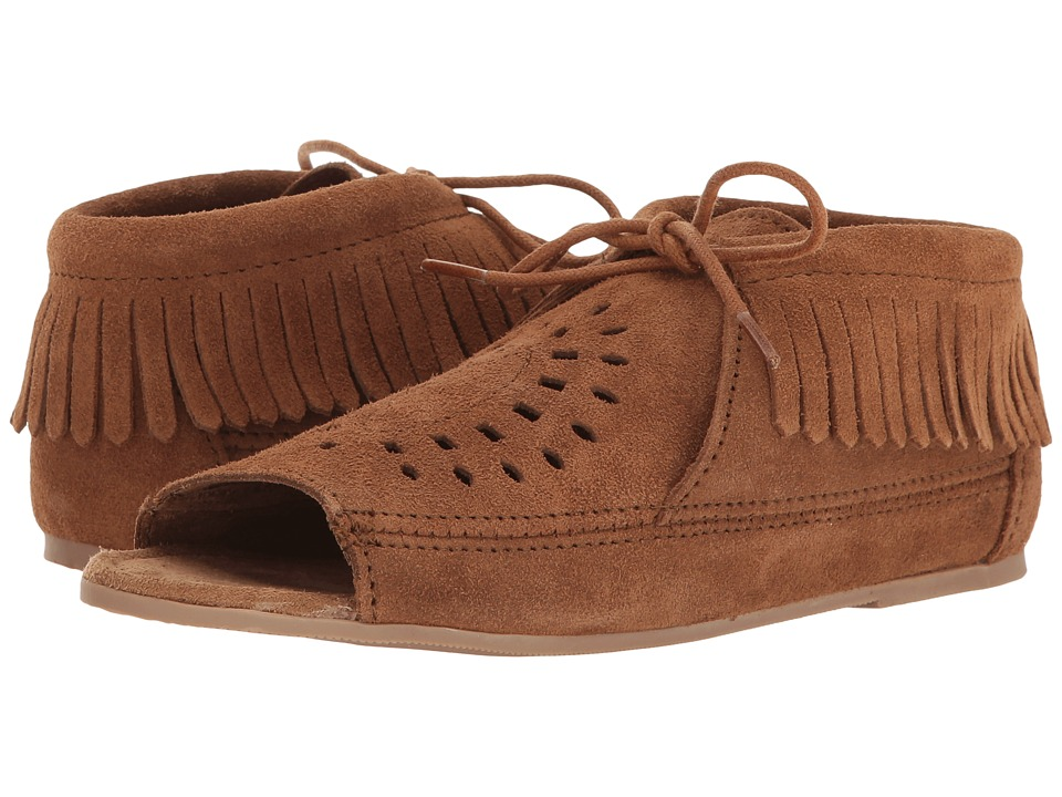 Minnetonka Lyra (Dusty Brown Suede) Women