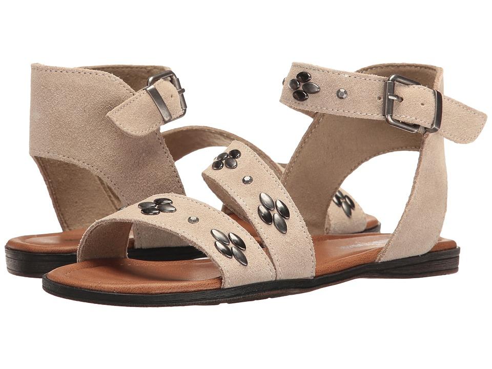 Minnetonka - Tangier (Stone Suede) Women's Sandals