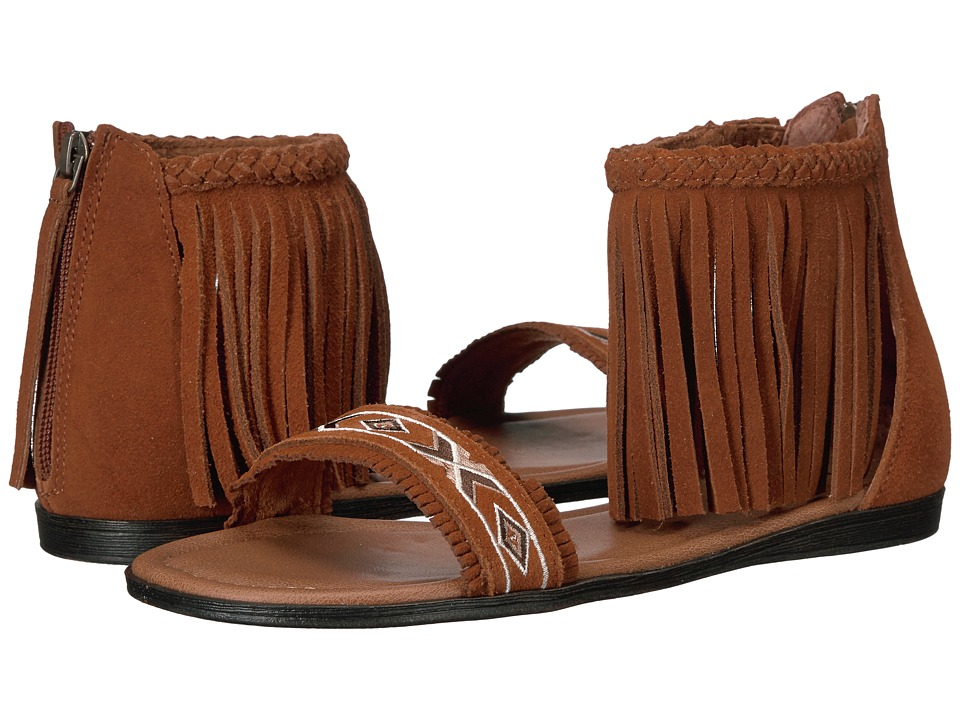 Minnetonka Morocco (Brown Suede) Women