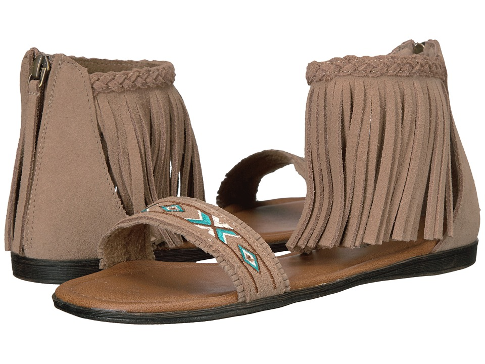 Minnetonka - Morocco (Taupe Suede) Women's Sandals
