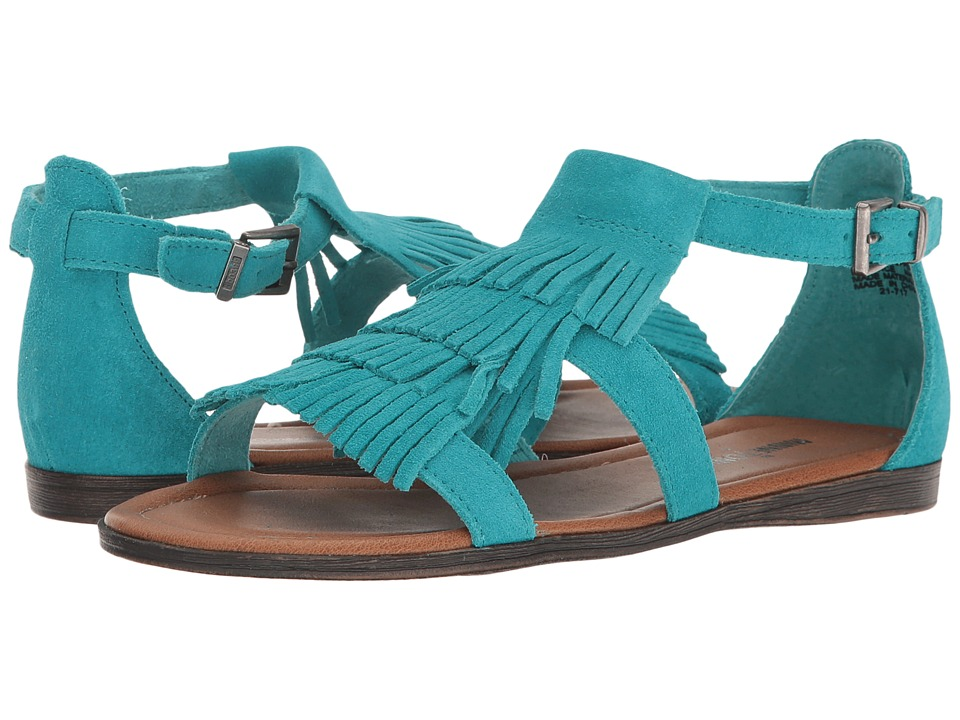 Minnetonka Maui (Turquoise Suede) Women