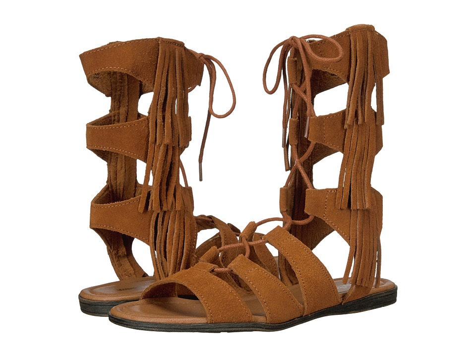 Minnetonka Milos (Brown Suede) Women