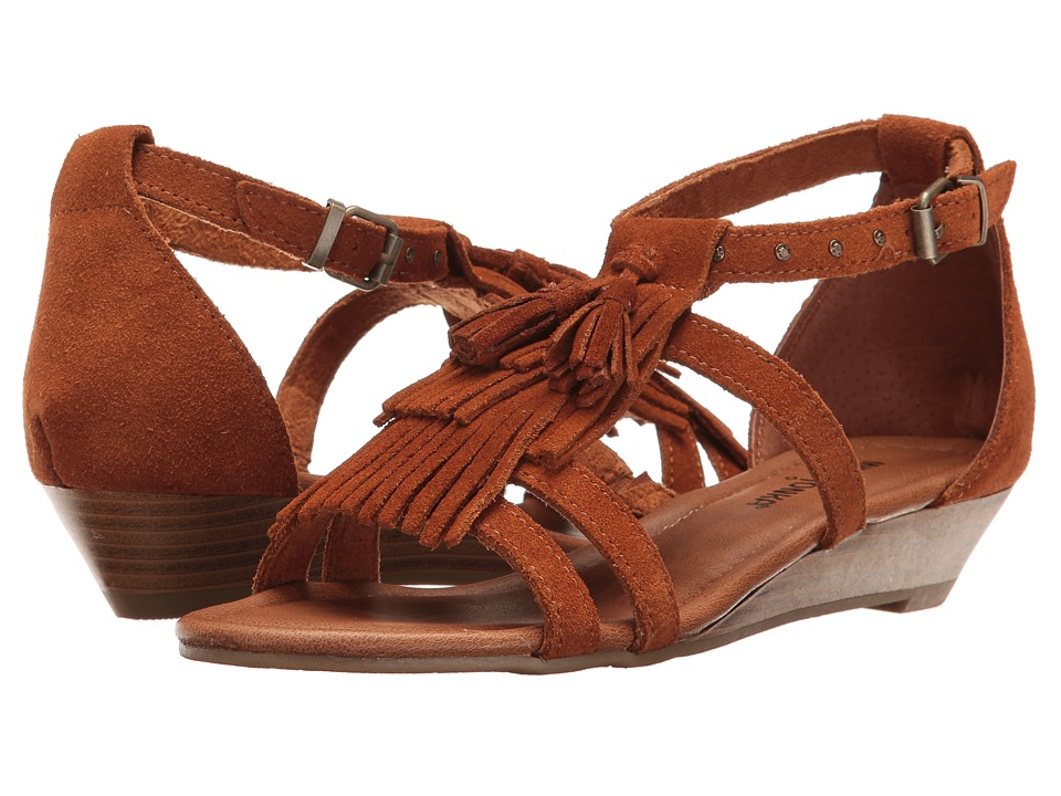 Minnetonka - Marina (Brown Suede) Women's Sandals
