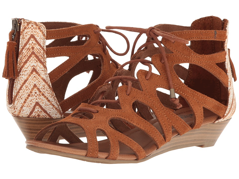 Minnetonka Merida III (Brown Suede/Brown Kasbah Fabric) Women