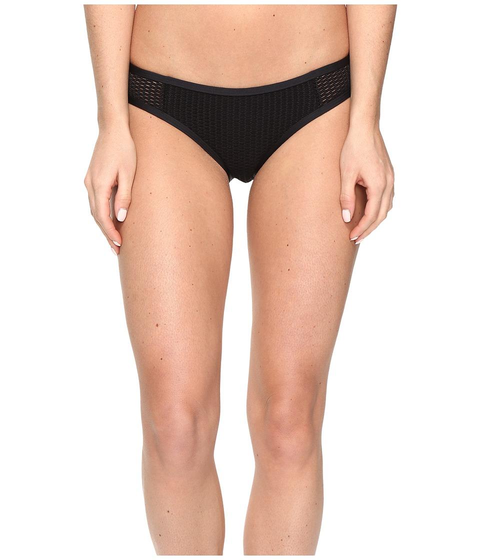 Red Carter - Sun Dance Side Tab Classic Hipster Bottoms (Black) Women's Swimwear