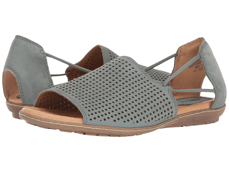 Earth - Shelly (Dusty Blue Soft Buck) Women's Shoes