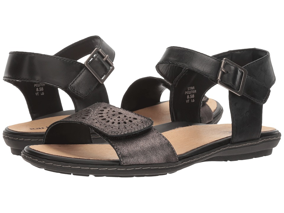 Earth - Star (Pewter Distressed Leather) Women's Shoes