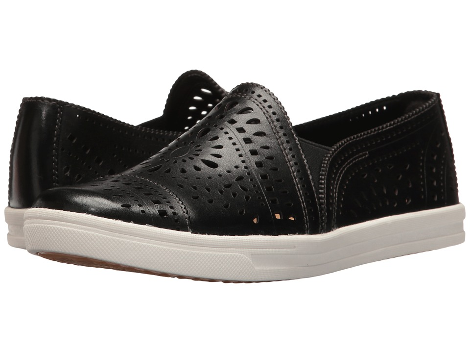 Earth - Tangelo (Black Soft Leather) Women's Slip on Shoes
