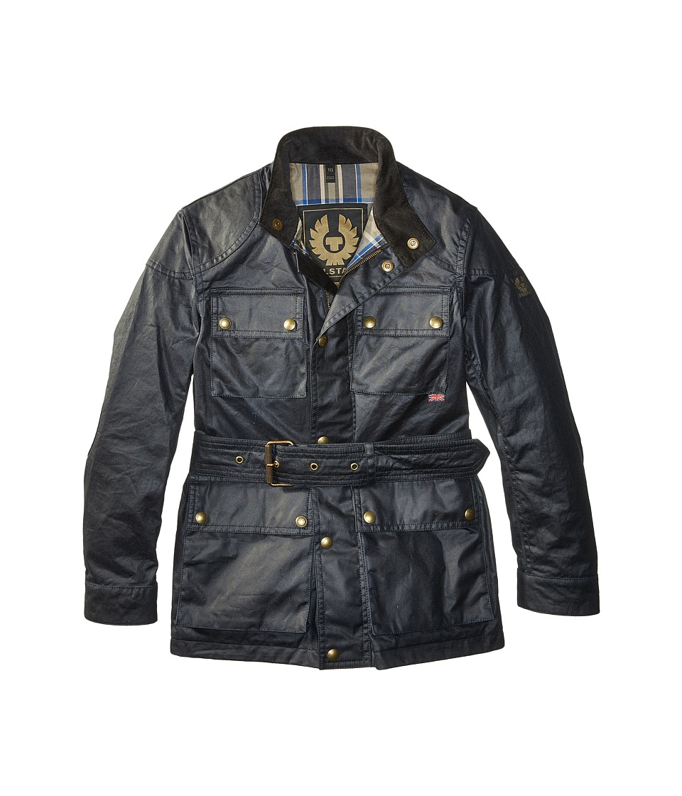 BELSTAFF - Roadmaster Junior Jacket (Big Kids) (Dark Navy) Coat