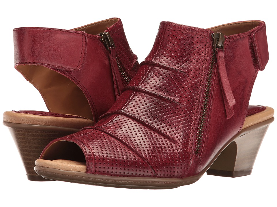 Earth - Hydra (Regal Red Soft Leather) Women's Shoes