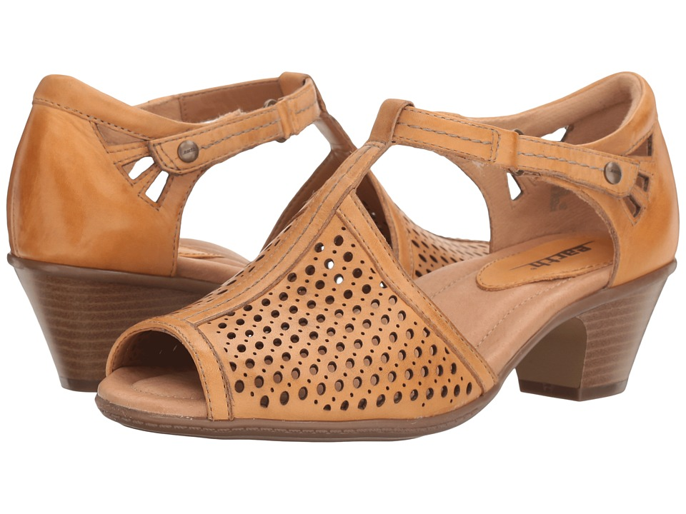 Earth - Pavo (Amber Yellow Soft Leather) Women's Shoes