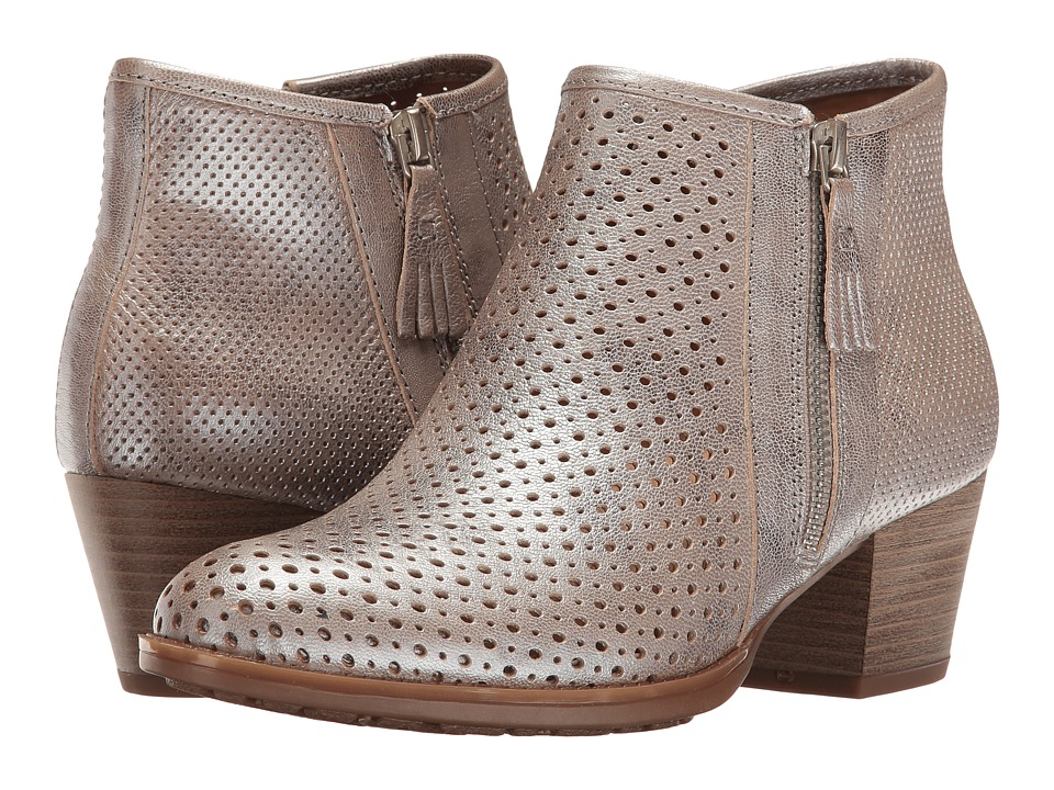 Earth - Pineberry (Silver Metallic Leather) Women's Boots