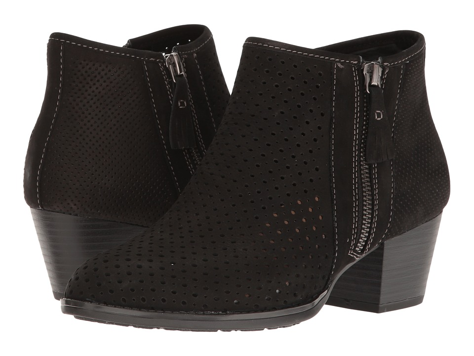 Earth - Pineberry (Black Soft Buck) Women's Boots