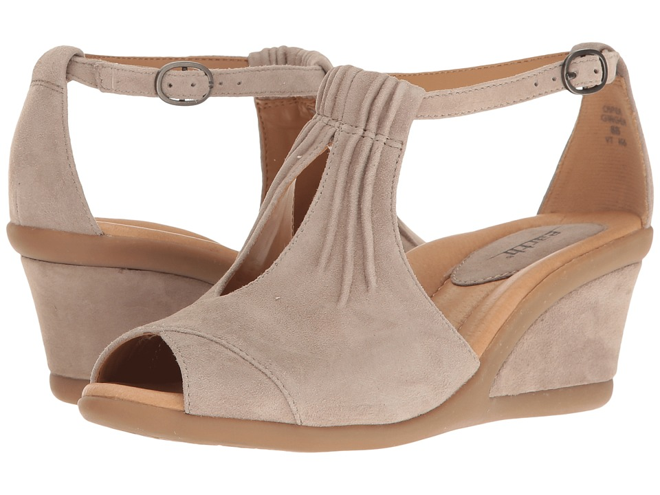 Earth - Caper (Ginger Suede) Women's Wedge Shoes