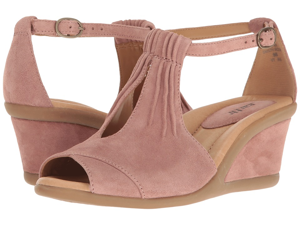 Earth - Caper (Dusty Rose Suede) Women's Wedge Shoes