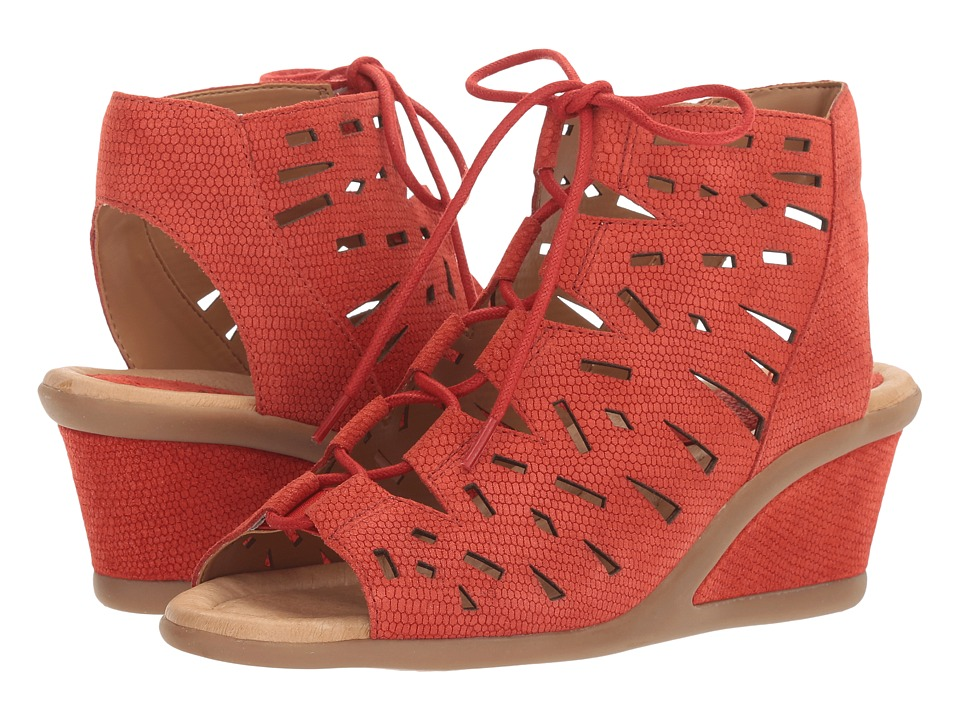 Earth - Daylily (Red Nubuck) Women's Shoes