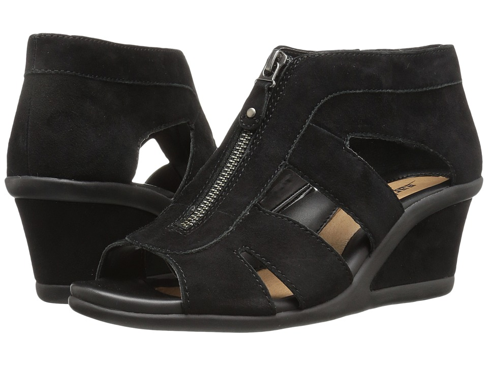Earth Poppi (Black Suede) Women
