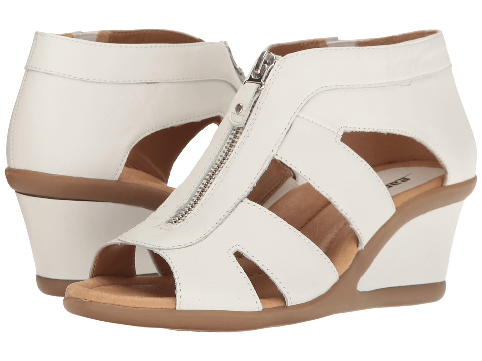 Earth - Poppi (White Soft Leather) Women's Shoes
