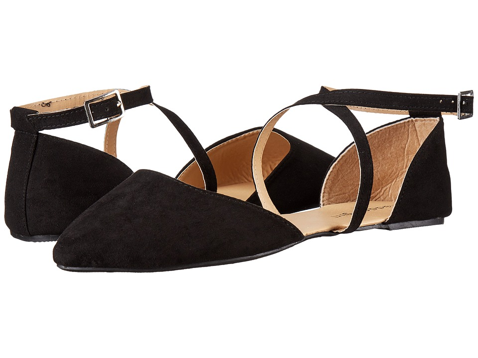 Madden Girl - Shaari (Black Fabric) Women's Flat Shoes