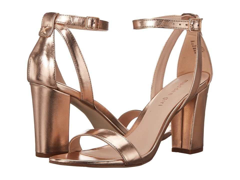 Madden Girl - Binky (Rose Gold) High Heels