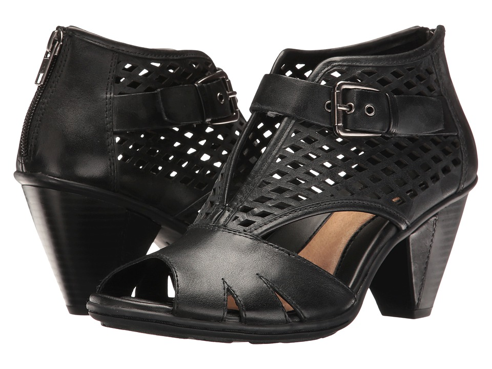 Earth - Virgo (Black Soft Leather) Women's Shoes