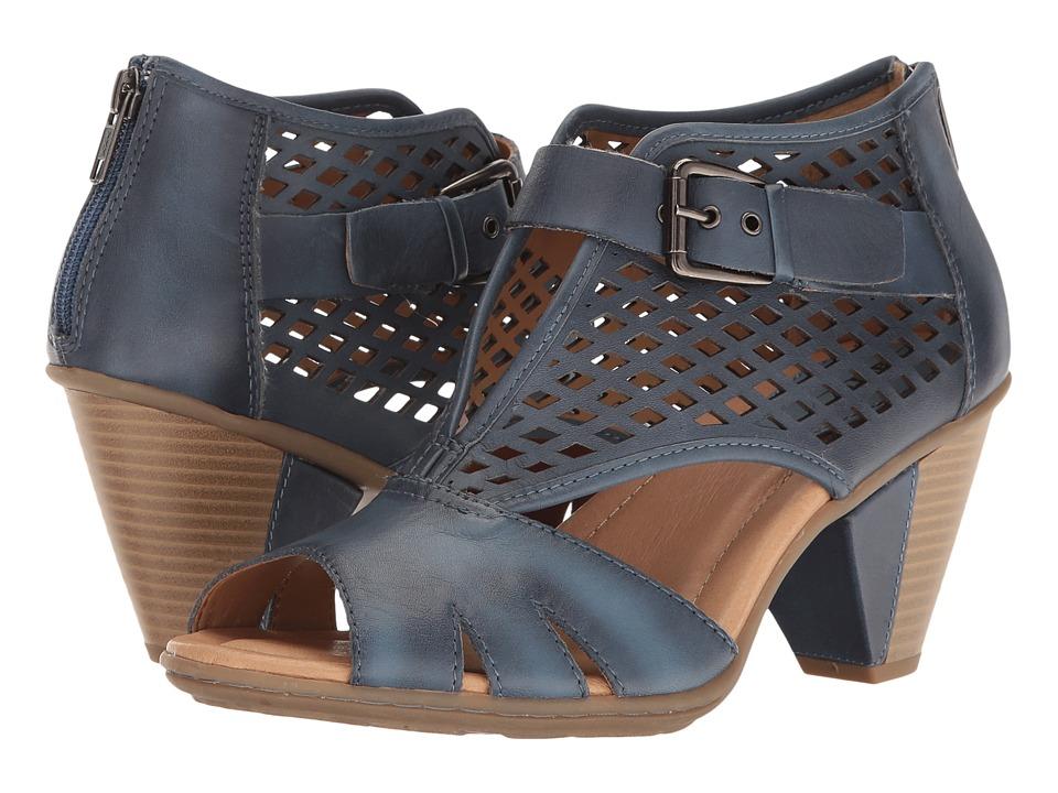 Earth Virgo (Parisian Blue Soft Leather) Women
