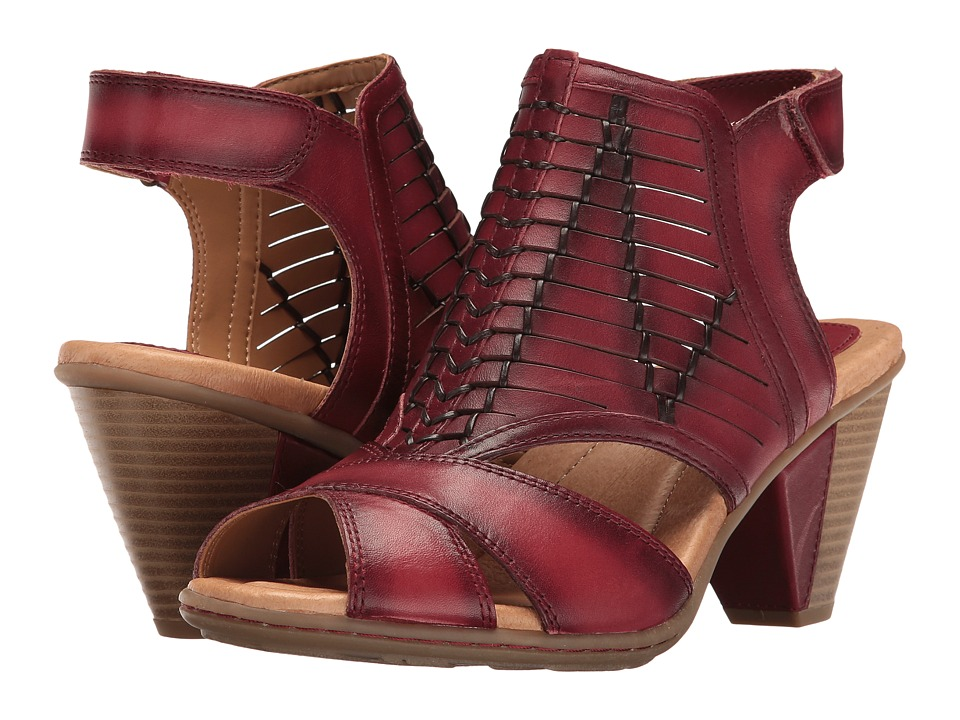 Earth - Libra (Regal Red Soft Leather) Women's Shoes