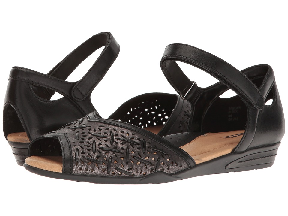 Earth Pangea (Black Soft Leather) Women